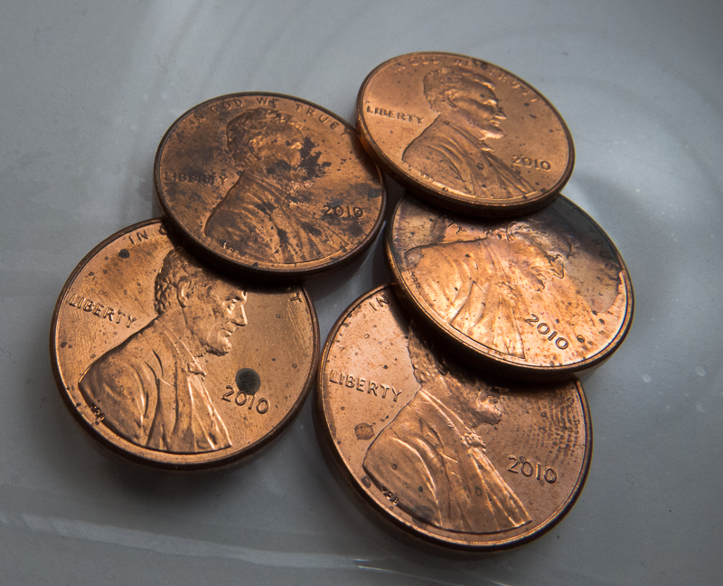 Day 17: Pennies from Dad