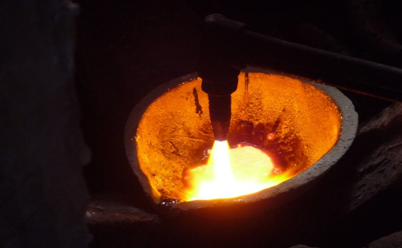 Day 11: Does copper melt in a flame?