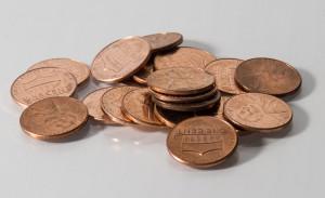 Shield pennies 4452