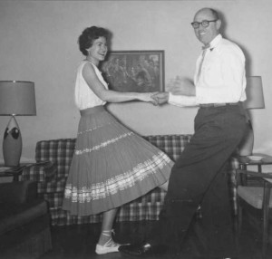 Mom dancing