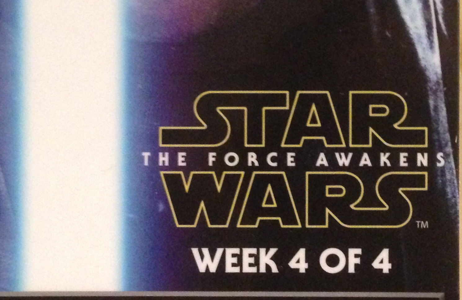 The Force re-awakens