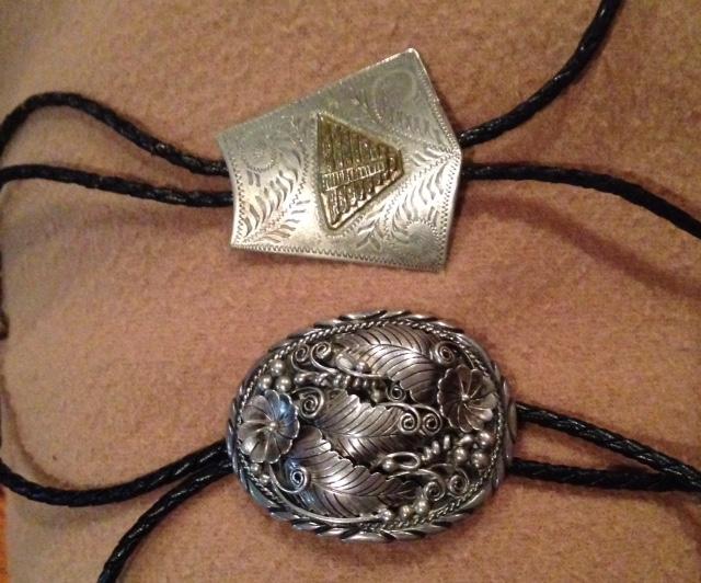Dad's necklaces