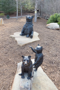 all bears statue