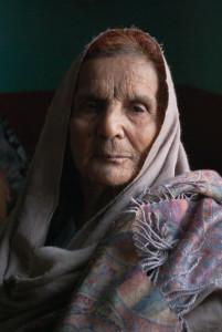 Afghan shawl