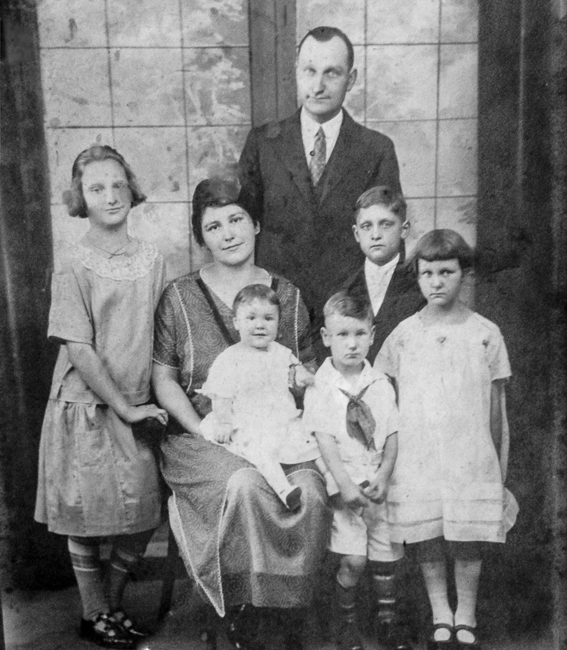 King and family