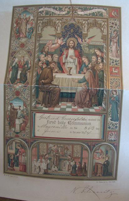 Gertie First Communion