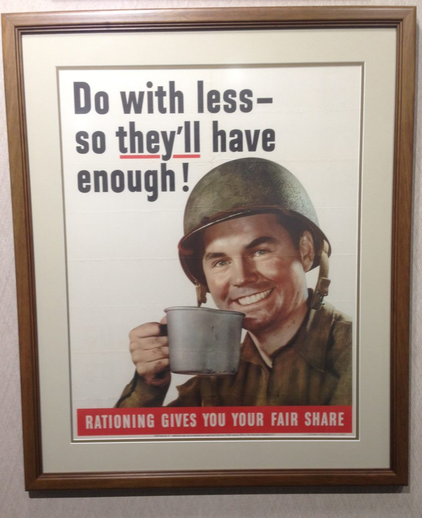 rationing-poster