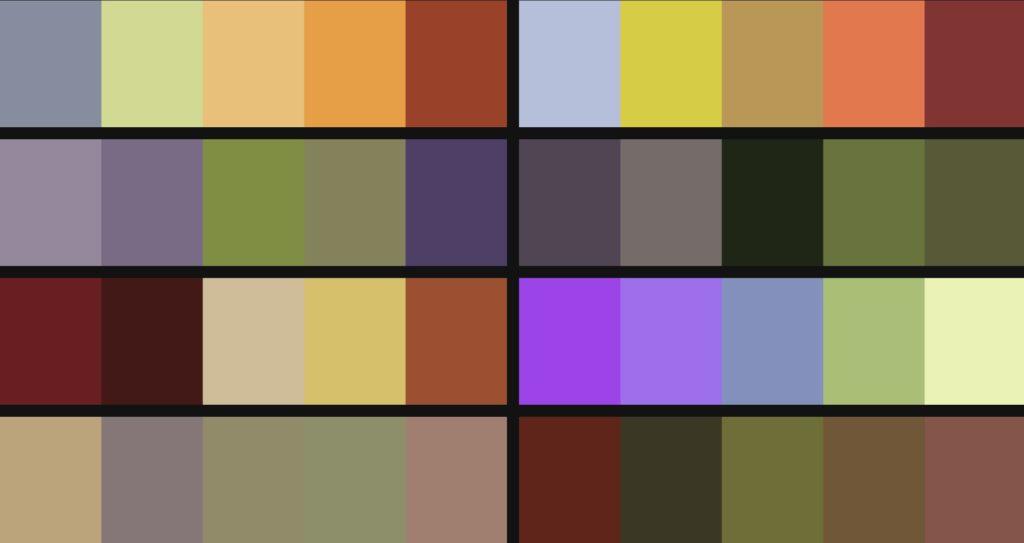 rain-palettes